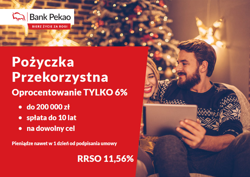 Kredyt gotówkowy banku Pekao SA