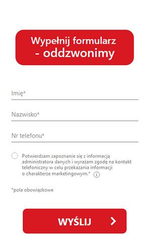 Kredyt gotówkowy Pekao SA formularz internetowy